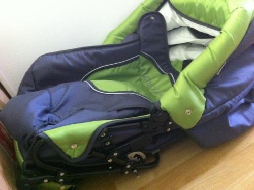 Sittdelen för barnvagn Krasnal Polaris