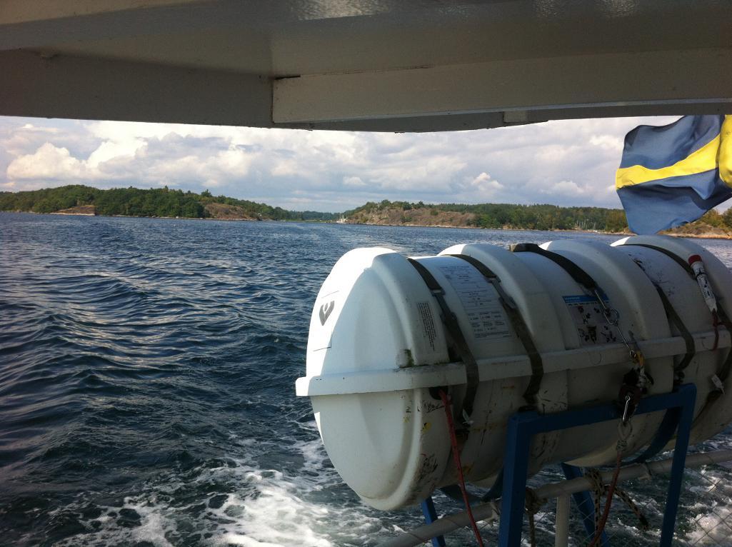 Båtresa till SSWC 2012
