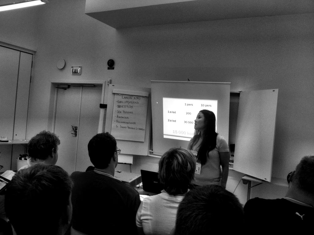 Session om LinkedIn @ SSWC 2012