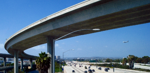 405 seen from 105 West