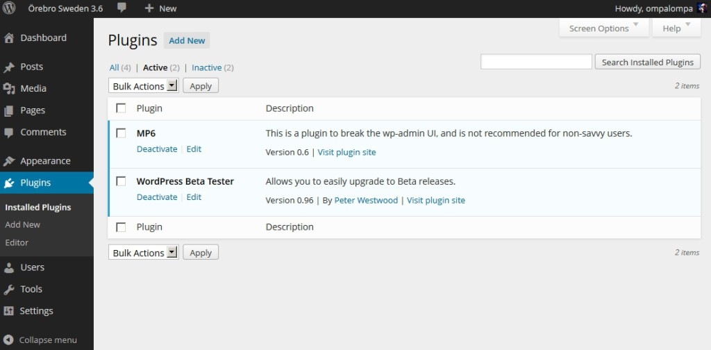 wordpress-mp6-admin-ui