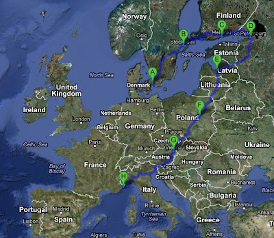 Gumball 2013 route