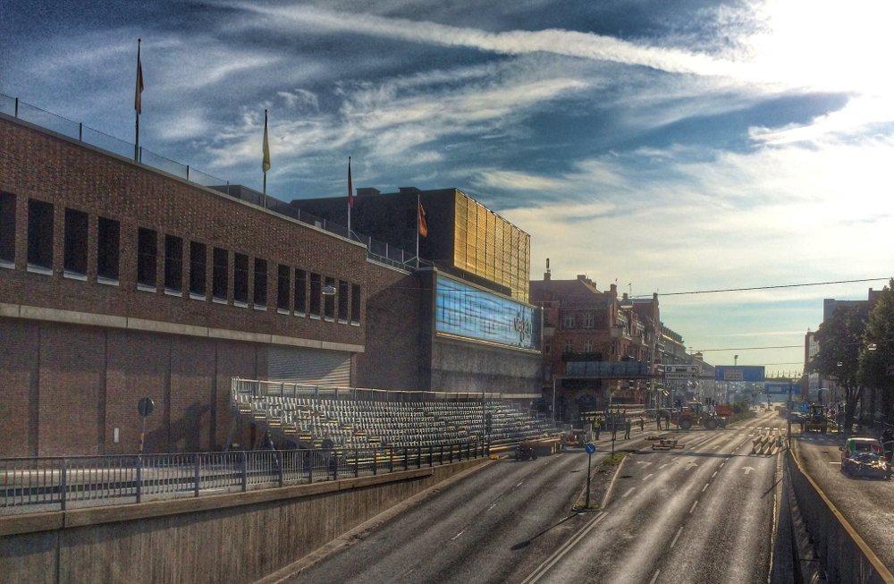 F1 Örebro: Läktare på Rudbecksgatan