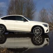 mercedes amg glc 43 side profile