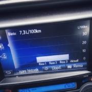 40% högre förbrukning än marknadsfört Toyota RAV4 Hybrid