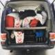 familjebuss hjulius caravelle packning