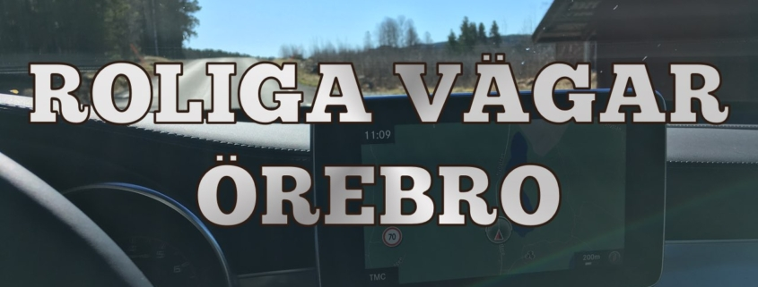 Roliga vägar runt Örebro