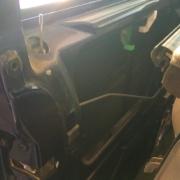 Demonterad dörrsida VW T4 Caravelle