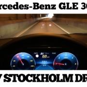POV-bilkörning i Stockholm 2019