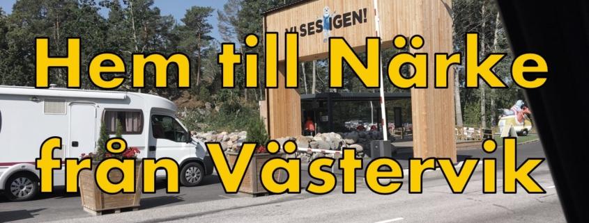 Bilkörning till Närke från Västervik