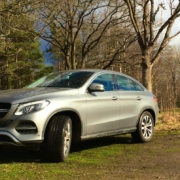 Mercedes Benz GLE Coupe 2016 04 09 Front Left Angle