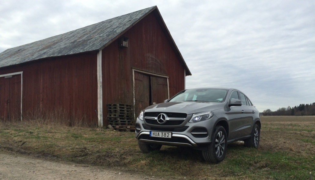 mercedes benz gle coupe front angle