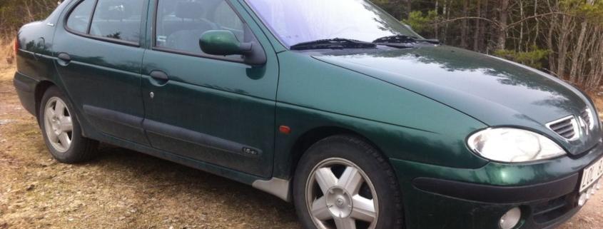 1999 renault megane exterior side front