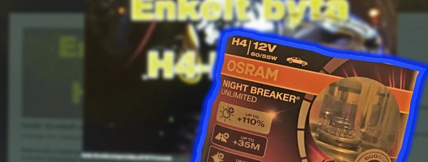 Biltema vs. Osram Night Breaker Unlimited