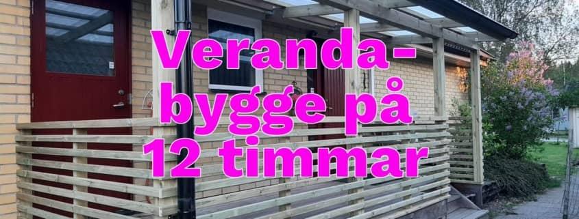 Bygga veranda